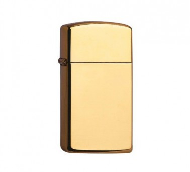 Zippo brass high polished (slim)