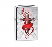 Zippo Cross with wing