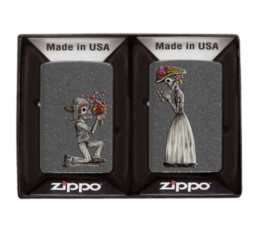 Zippo Day of the Dead skull