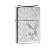 Zippo Playboy high polish (chrome)